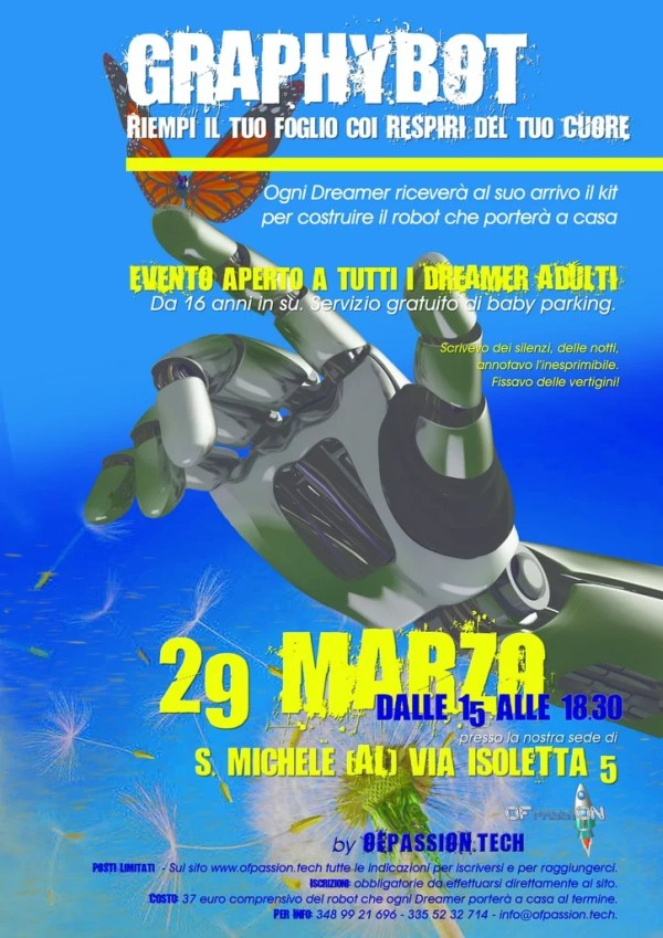 graphybot laboratorio adulti alessandria