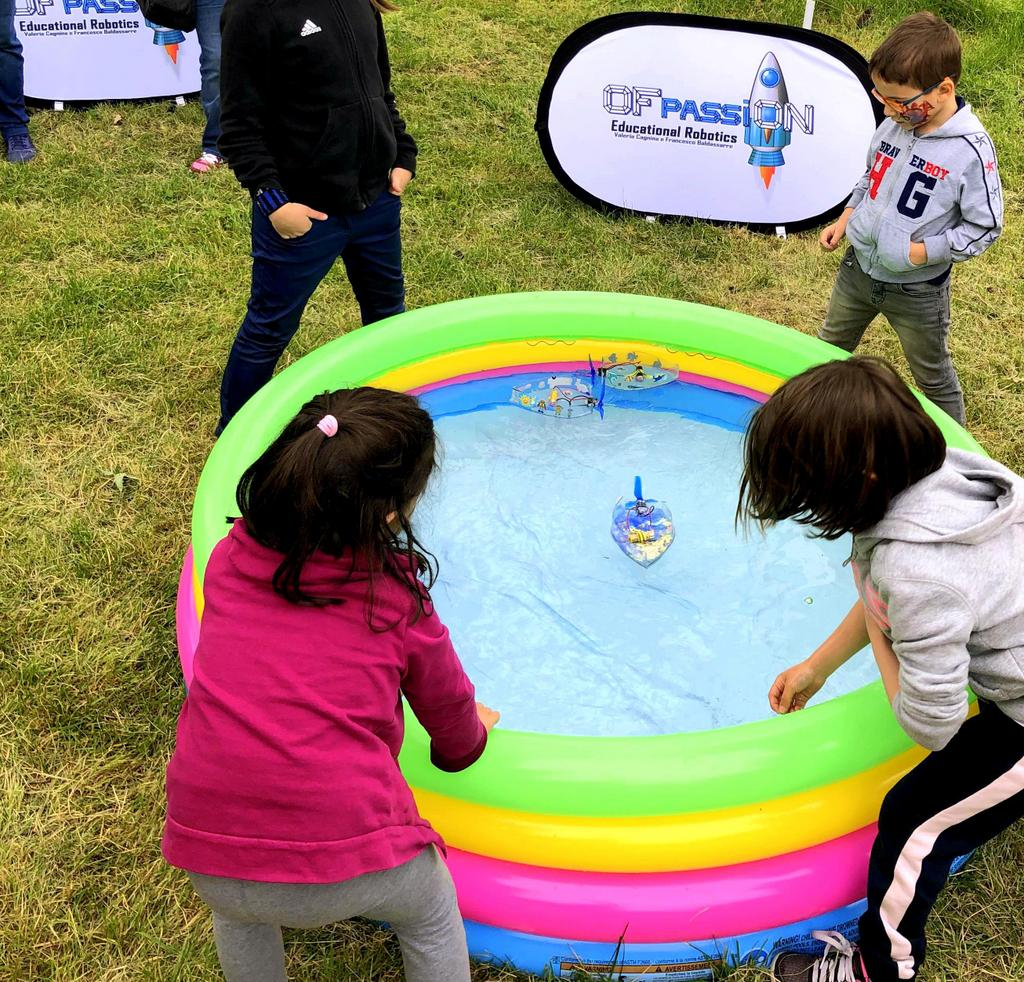 piscina giochi mini estate tech
