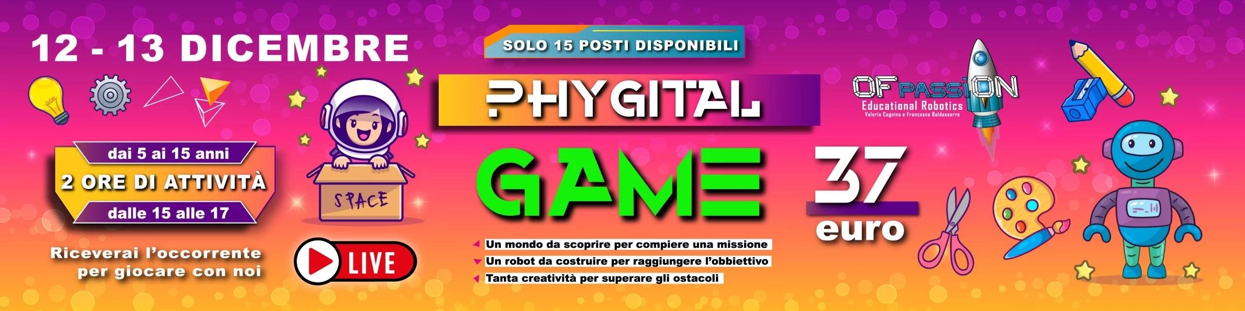 phygital weekend game