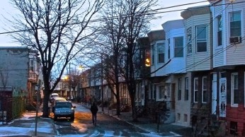 Kensington area street impression.