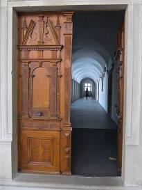 Auch hier treffe ich als Pilger auf eine offene Tür - An open door for pilgrims