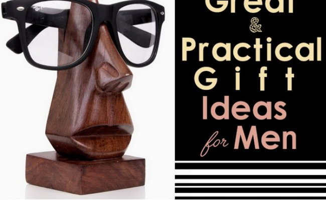 20 Great Practical Gift Ideas For Men