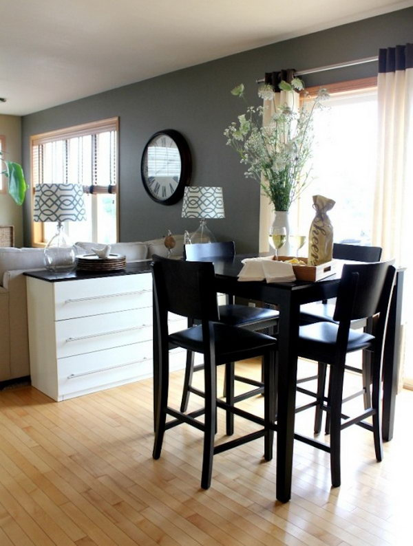 ikea kitchen table with drawers diy cabinet refacing 20+ cool hacks - ideas and tutorials to improve ...