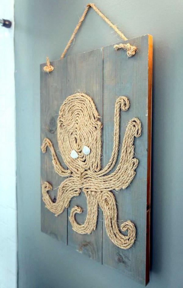 DIY Ideas  Tutorials for Nautical Home Decoration