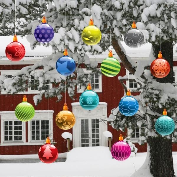 Unique Outside Christmas Decorations