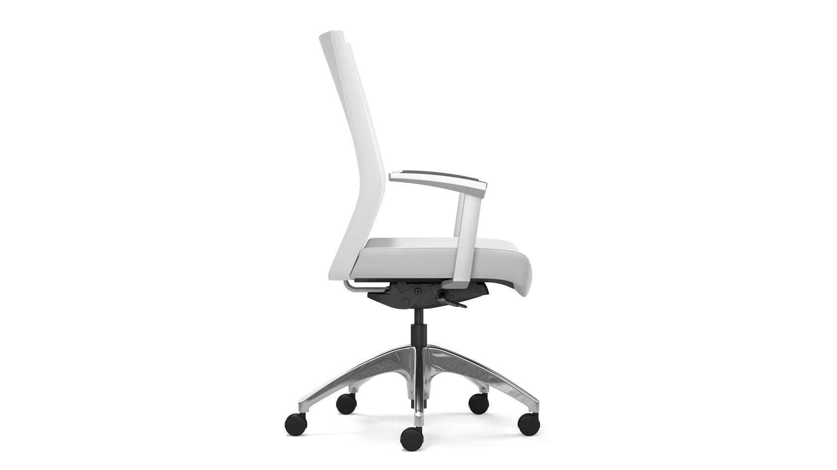 office chair leaning to one side comfy bar chairs wow highmark revel enhance your posture