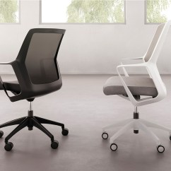 Swivel Office Chair Without Arms Wayfair Parsons Flexxy   Ofs Brands