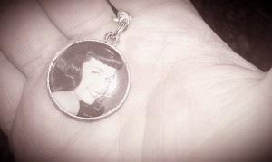 Bettie Page Keychain