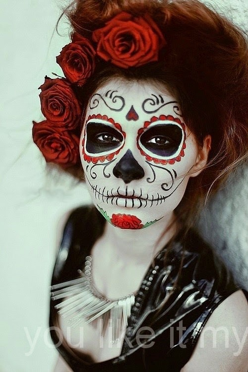Candy Skull Face Paint : candy, skull, paint, SUGAR, SKULL, PAINT, Learn