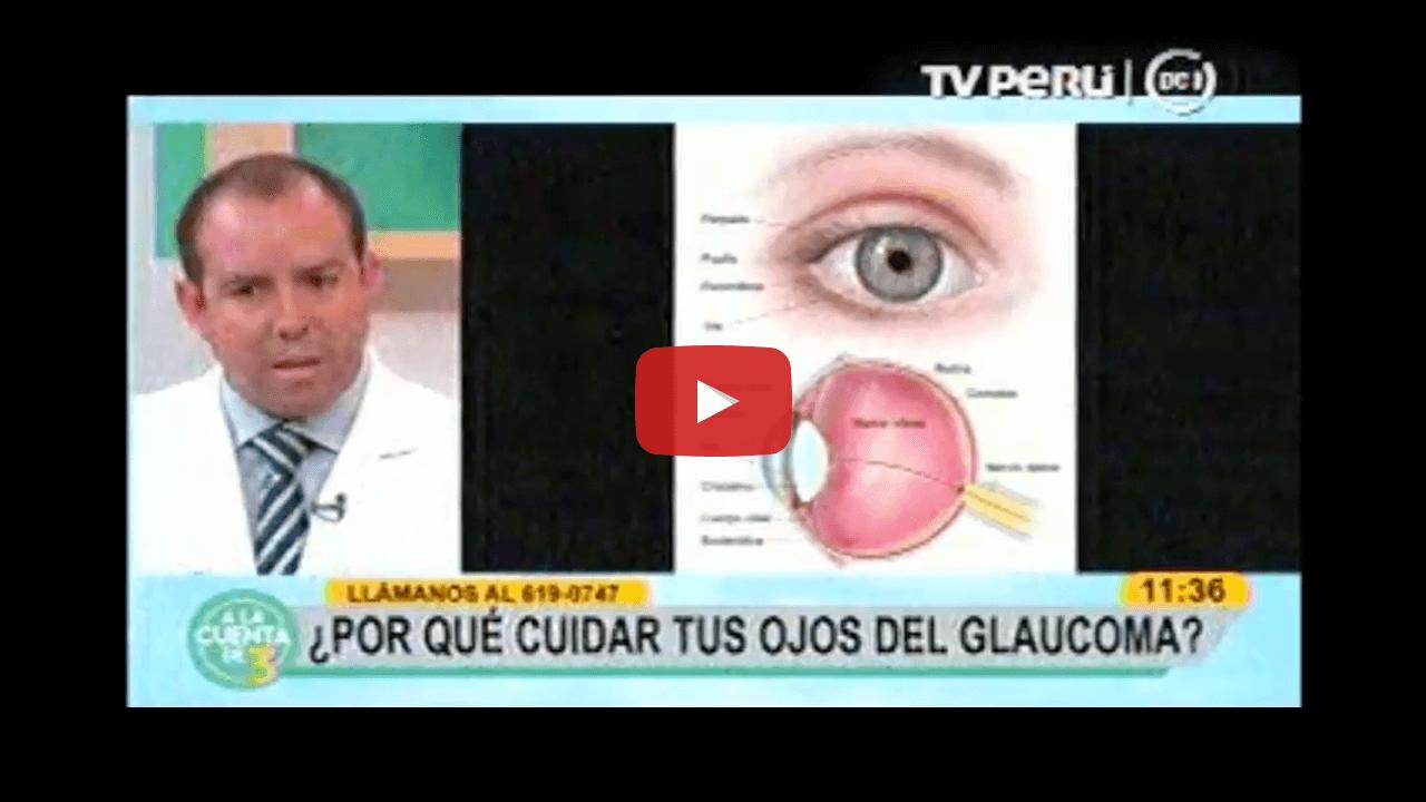 ¿Por qué cuidar tus ojos del Glaucoma? con el Dr. Santiago Encinas