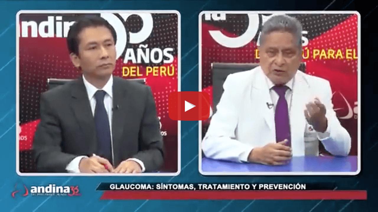 Glaucoma: síntomas, tratamiento y prevención con el Dr. Rubén Berrospi