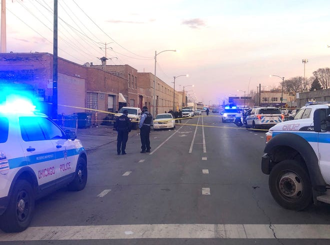 gunfire erupts at party