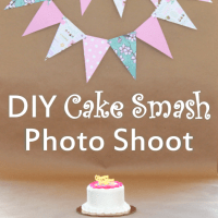 DIY Cake Smash Photo Shoot