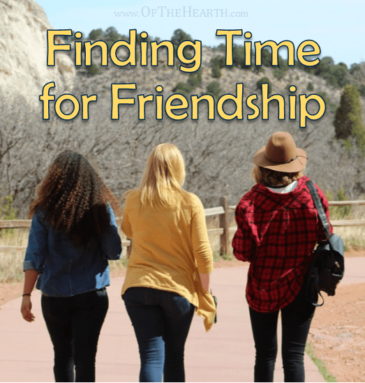 Finding Time for Friendships