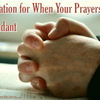 Inspiration for When Your Prayers Feel Redundant