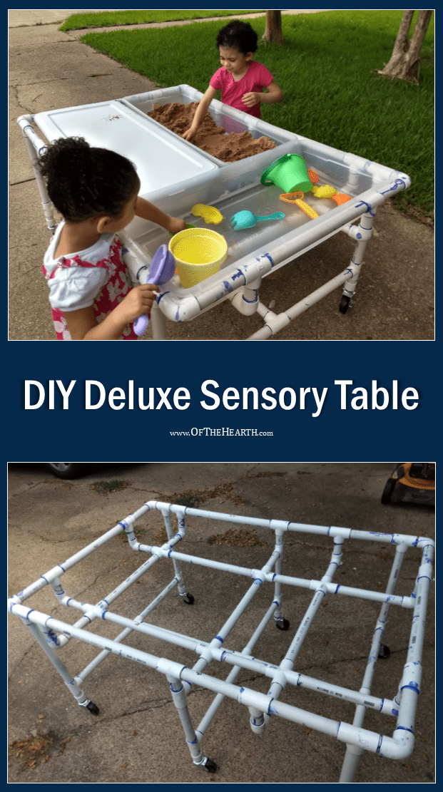 Diy Deluxe Sensory Table