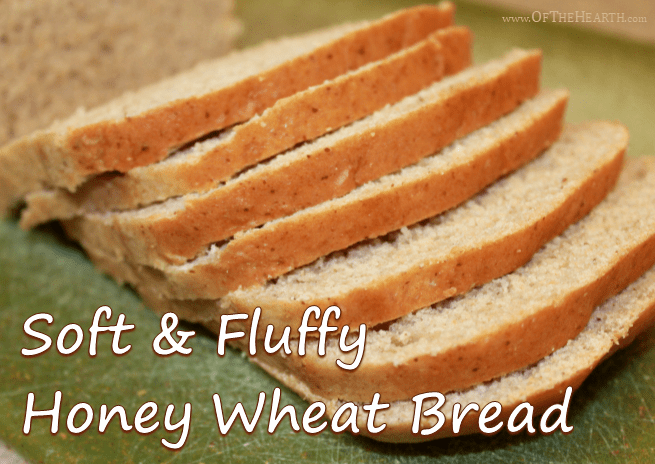 Soft And Fluffy Honey Wheat Bread