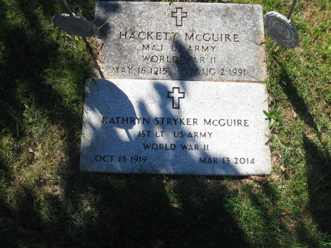 My Grandpa and Grandma's headstones
