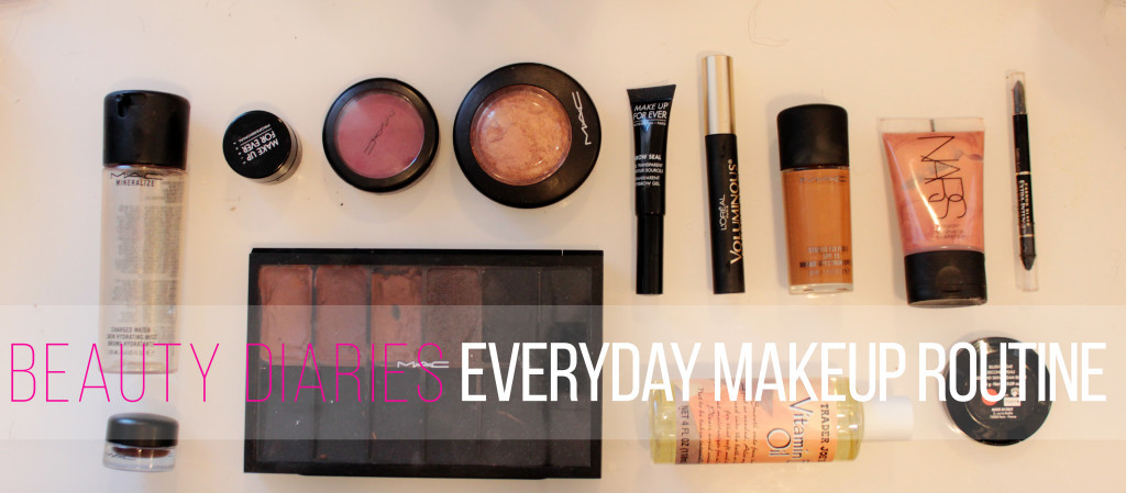 beauty diaries everyday makeup routine
