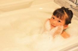 女の子 お風呂