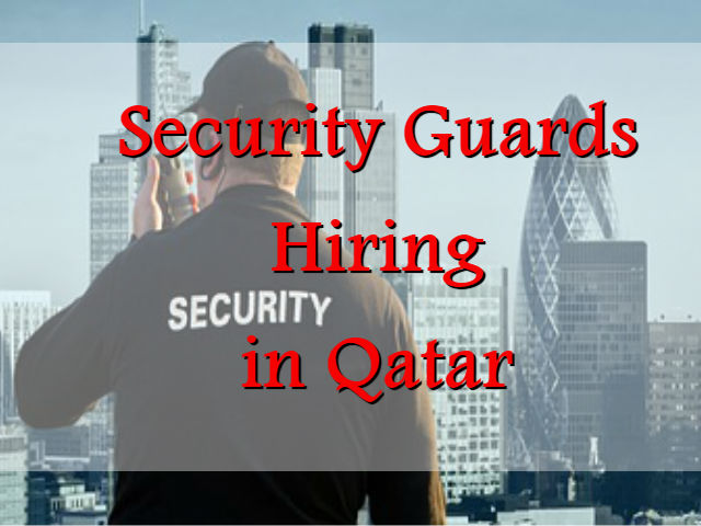 Filipino Security Guards Hiring in Qatar - OFW Help