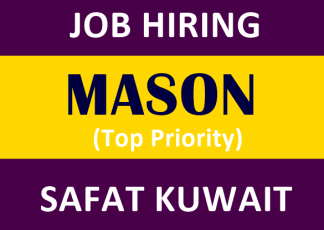 Mason-Job-Hiring-for-Kuwait