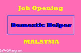 Domestic-Helper-Job-Opening-for-Malaysia