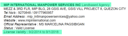 MIP-Internation-Manpower-Services-Incorporated-Licensed-Validity