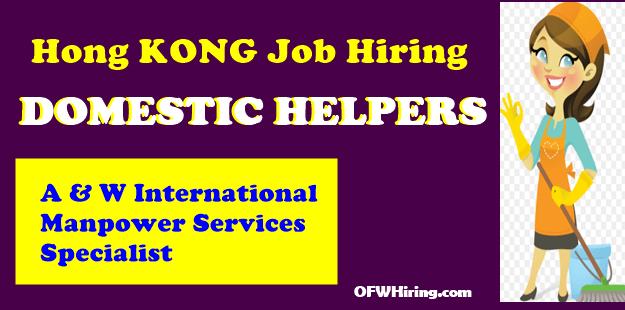 Hong-Kong-Domestic-Helper-Job-Opening