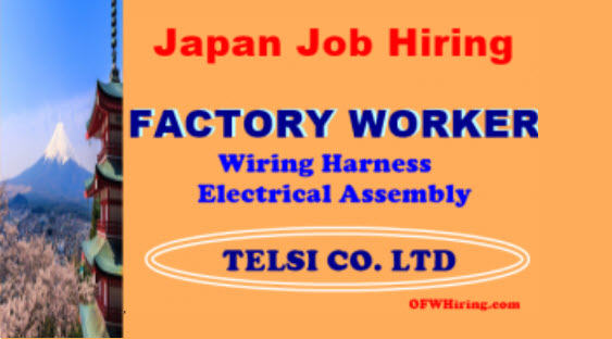 Japan Job Opening Factory Workers?fit=563%2C312&ssl=1&resize=350%2C200 factory worker (wiring harness electrical assembly) job opening wiring harness jobs in singapore at crackthecode.co