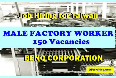 Taiwan-Job-Opening-for-Male-Factory-Worker