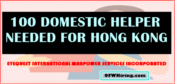 Domestic-Helper-2018-Job-Hiring-for-Hong-Kong