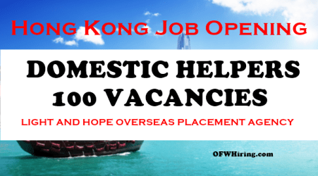 Hong-Kong-Job-Hiring-for-Domestic-Helper-2018