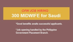 midwife hiring 2016 to 2017
