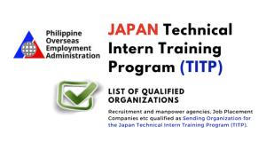 Japan TITP Program