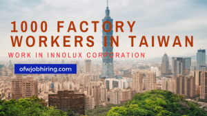 1000 factory workers in taiwan 2020