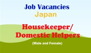 Japan-Job-Opening-for-Housekeepers-Domestic-Helpers
