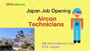 Japan-Job-Hiring-Aircon-Technicians