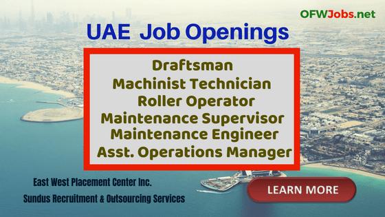 uae-job-hiring-machinist-technician-roller-operator-engineer-draftman