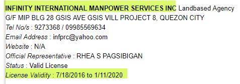 Infinity-International-Manpower-Services-Inc.-POEA-License