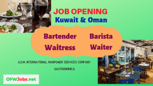 restaurant-job-vacancies-waiter-waitress-barista-bartender