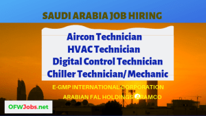 saudi-arabia-job-opening-hvac-technician-aircon-technician-chiller-technician