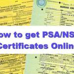 How to apply for PSA Certificates Online – Birth, Marriage, Death and CENOMAR
