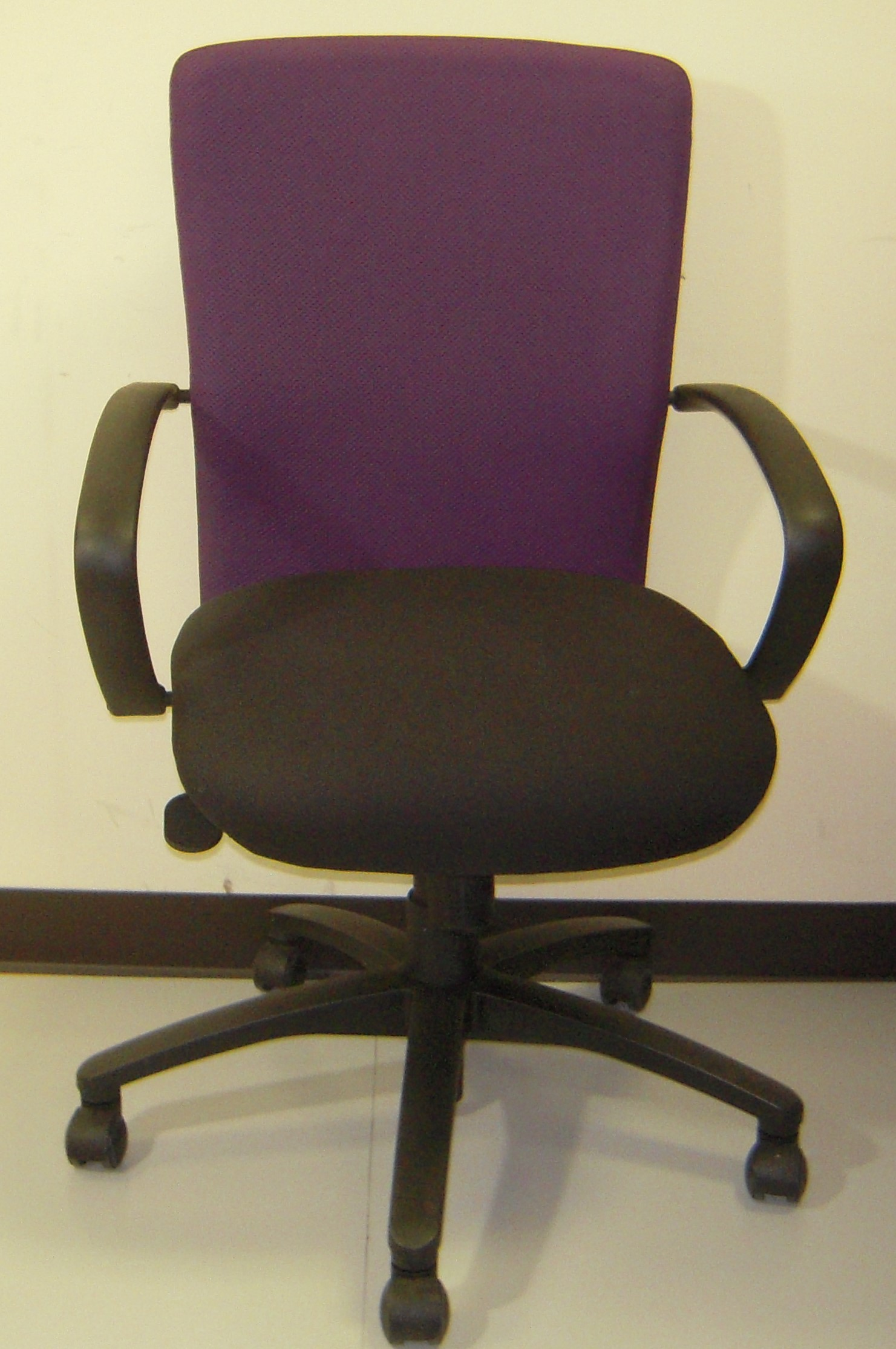 Dauphin Chairs Dauphin Purple Mid Back Office Chair Office Furniture Warehouse