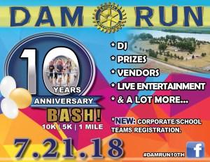 Dam Run 5K, 10K and 1 mile (Adult & Kids) @  Lake Ogallala State Recreation Area | Ogallala | Nebraska | United States