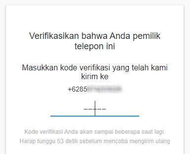 Verifikasi Kode Yahoo! Mail