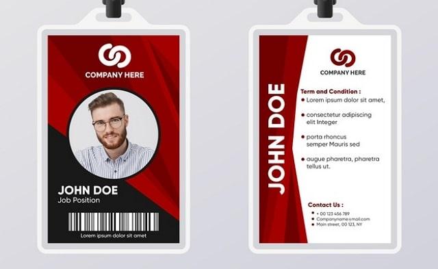 Desain ID Card Profesional