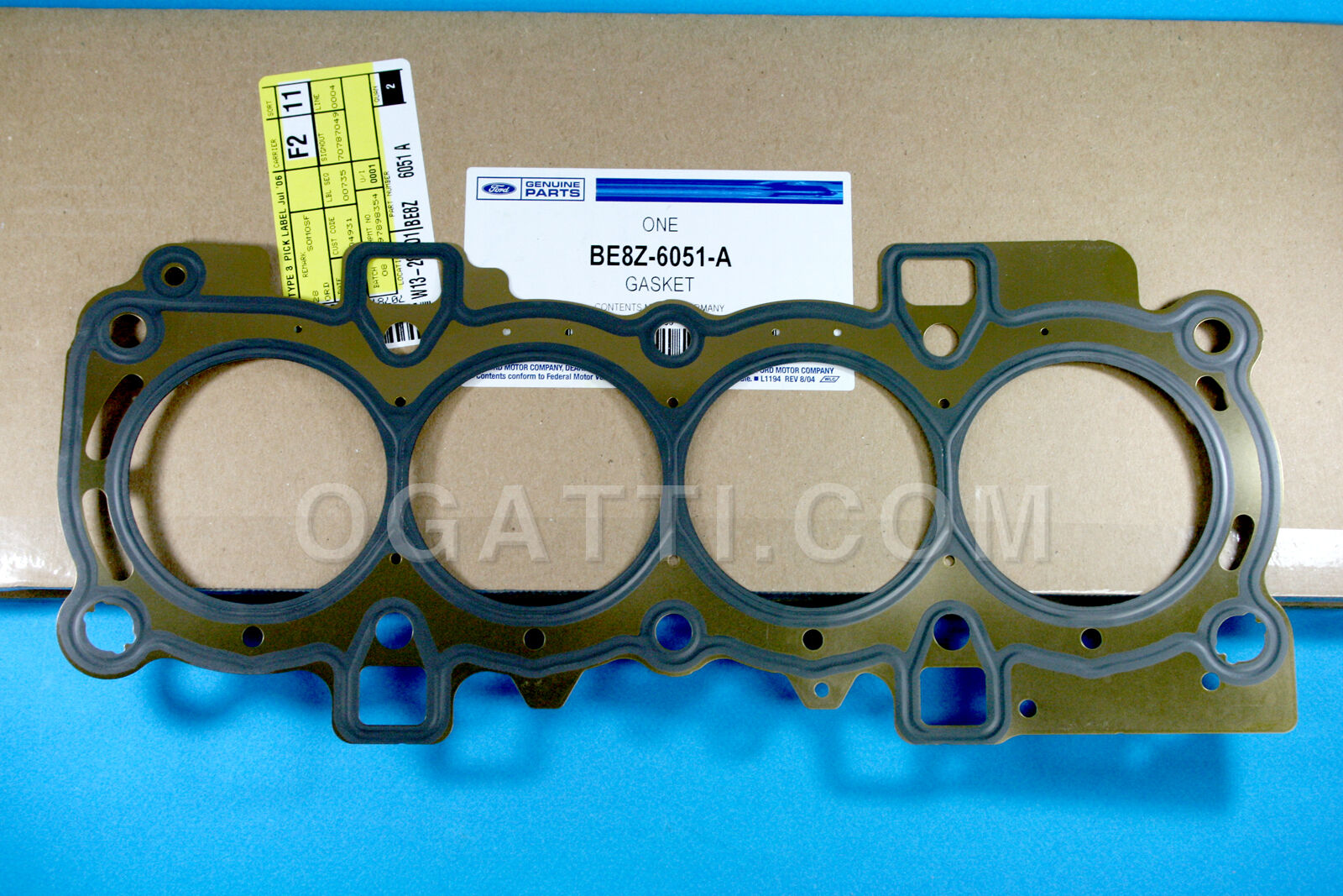 Brand New OEM GASKET – CYLINDER HEAD BE8Z-6051-A |6051|