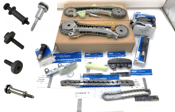 Brand New OEM Timing Chain 4.0L, 15 Pieces Engine Repair Kit (OG-60-4.0L-15-2)