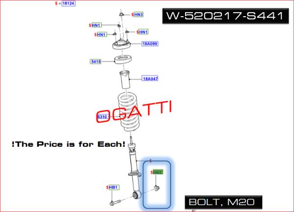 Brand New OEM NUT – HEX. W520217-S441 |W520217|